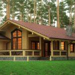 Фото 19: Красивый деревянный дом