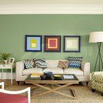 Фото 6: Зеленые стены