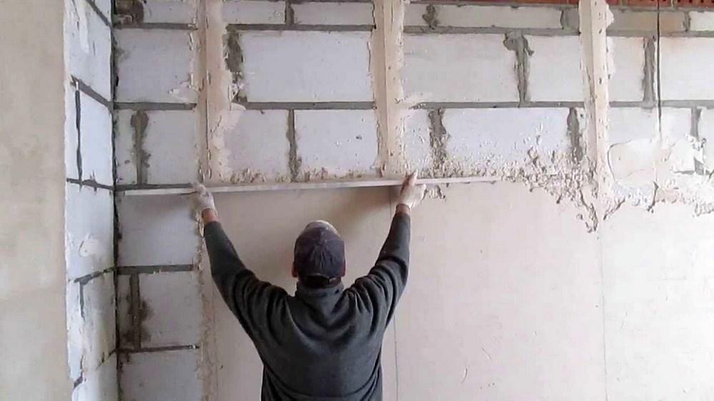 Правильная штукатурка стен