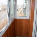 Фото 59: отделка балкона панелями