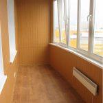 Фото 8: Обшивка стен и пола на балконе