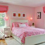 Фото 76: Спальня в розовых тонах для девочки