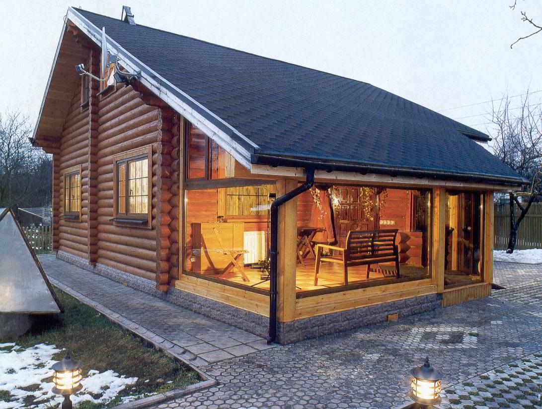 Комфортные деревянные дома