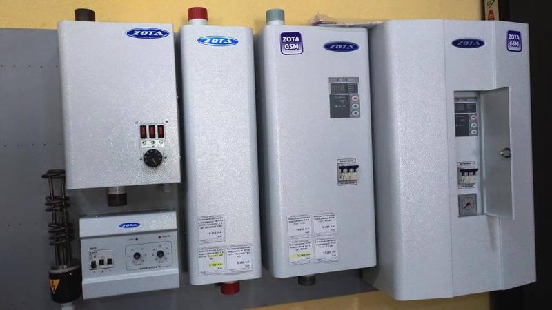 Виды электрических котлов для системы отопления частного дома