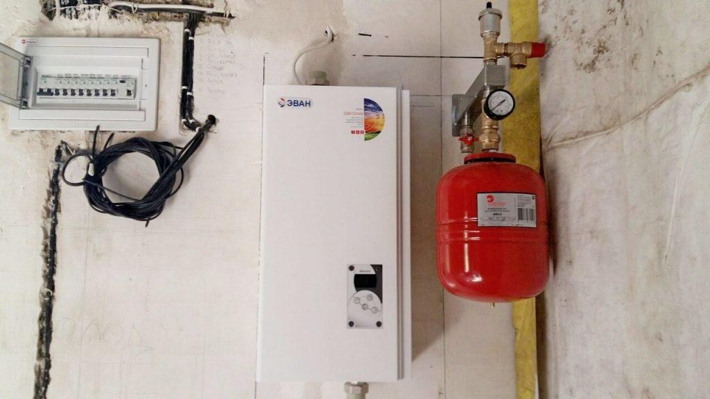 Для подключения электрического котла потребуется отдельный ввод электропитания