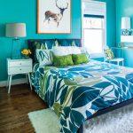 Фото 55: Яркое оформление спальни