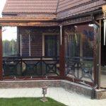 Фото 5: шторы ПВХ для веранды