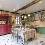 Фото 35: кухни прованс