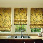 Фото 73: Солнечные римские шторы для кужни