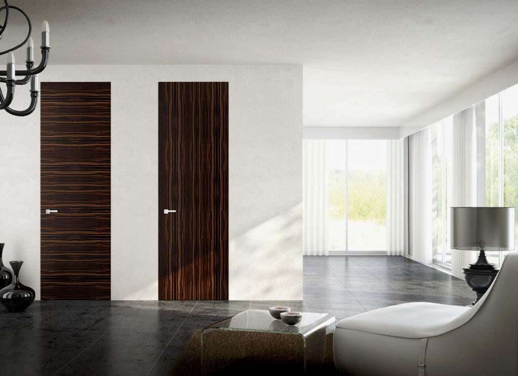 Шпонированные двери: плюсы и минусы