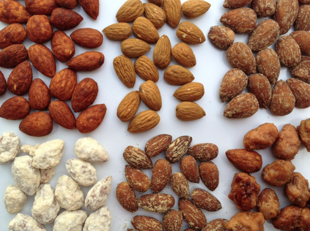 Разновидности ореха
