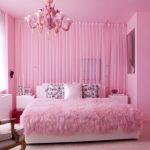 Фото 59: Уютная розовая спальня