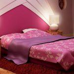 Фото 65: Романтическая кровать в розовом цвете