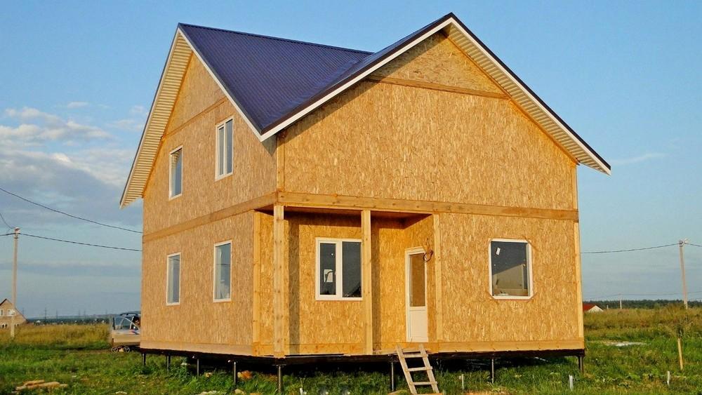 Комфортный дом построенный из СИП-панелей