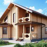 Фото 27: Проект дома из оцилиндрованного бревна