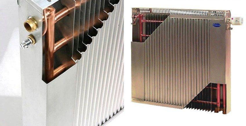 Биметаллические радиаторы с медными трубами