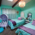 Фото 37: Сказочное оформление спальни в бирюзовом цвете