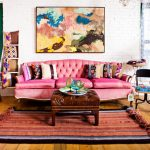 Фото 20: Яркий дизайн гостиной