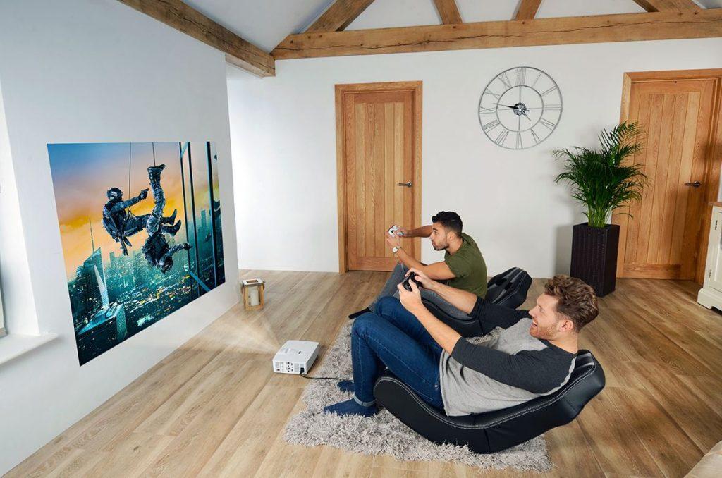 Подключение проектора к игровой приставке