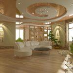 Фото 10: Потолок для гостиной