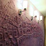 Фото 31: Индивидуальный дизайн стен декоративной штукатуркой