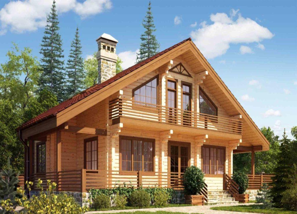 Долговечные деревянные дома