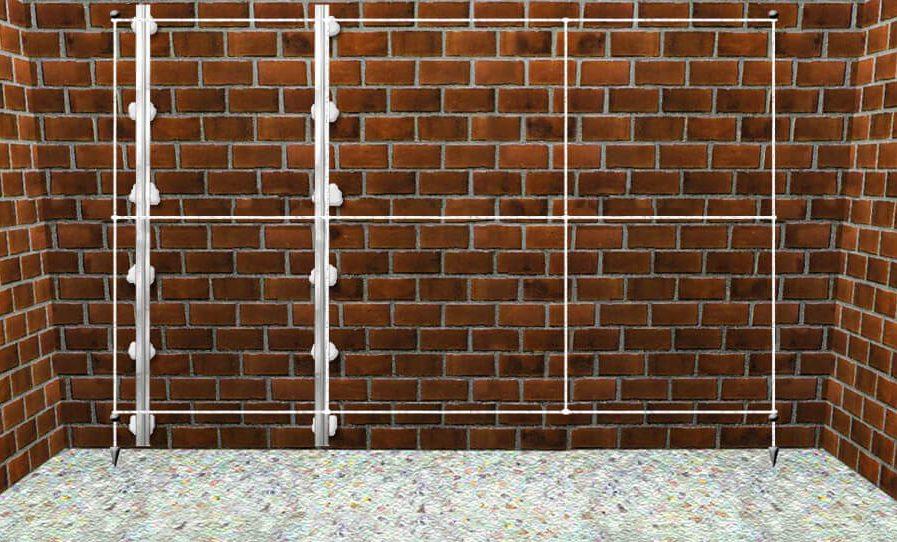 Правильная штукатурка стен по маякам