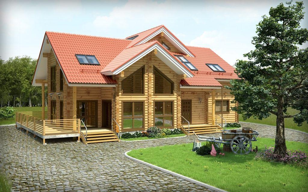 Современные дома по ключ