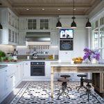 Фото 17: современная отделка кухни