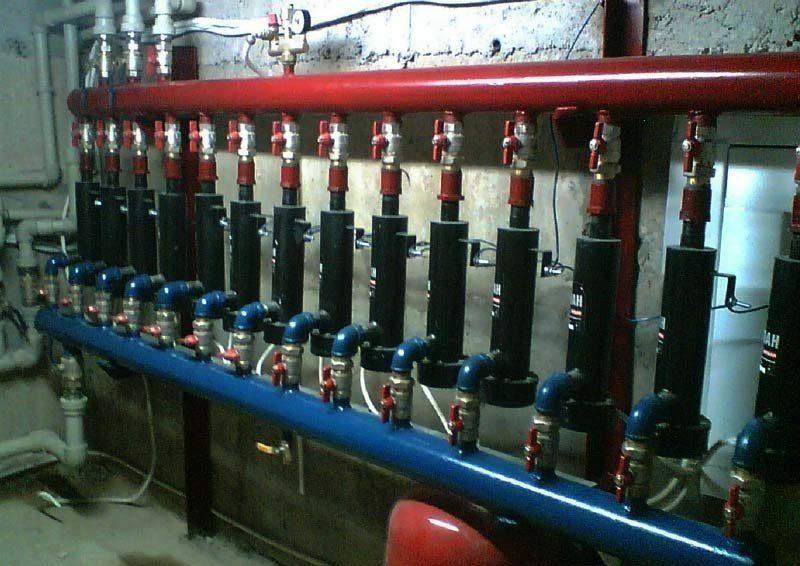 Параллельное подключение в систему отопления электродных котлов