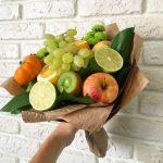 Фото 49: Как создать оригинальный фруктовый букет