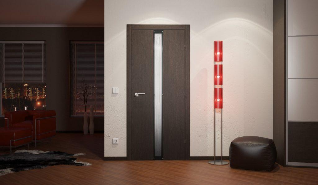 Особенность производства шпонированных дверей