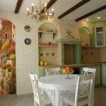 Фото 25: кухни прованс