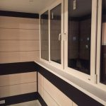 Фото 51: МДФ отделка балкона
