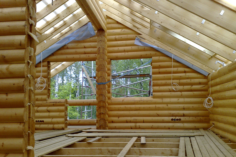 Этапы строительства деревянного дома