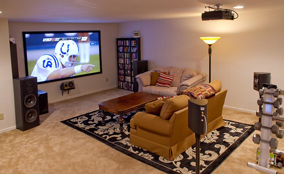 Установка домашнего проектора