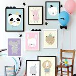 Фото 48: Картины для детской комнаты