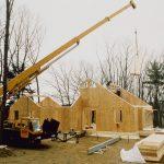 Фото 42: Сборка дома из СИП-панелей