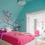 Фото 69: Сочетание розового и бирюзового цвета