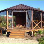 Фото 27: применение штор ПВХ при постройке дома