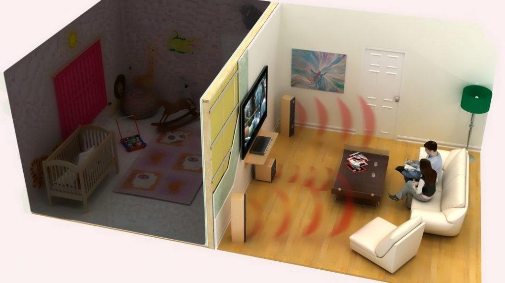 Шумоизоляция в квартире с детской