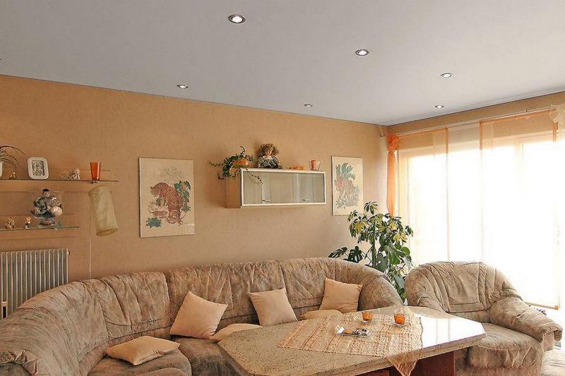 Надежный тканевый натяжной потолок