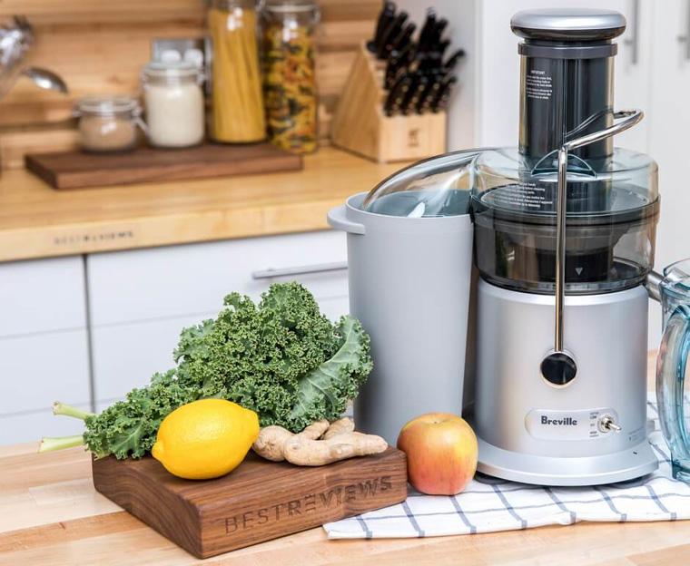 Центробежная соковыжималка для твердых овощей и фруктов