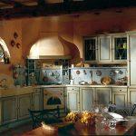 Фото 64: Уютная кухня в стиле прованс