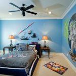 Фото 67: Оформление стен краской