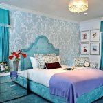 Фото 80: Дизайн спальни в бирюзовых тонах
