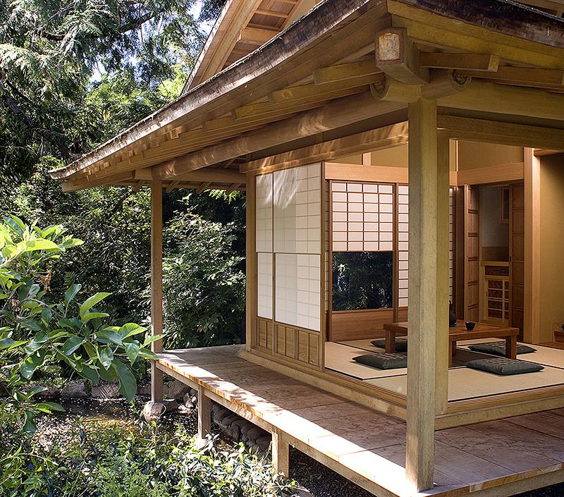 Веранда японская пагода