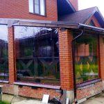 Фото 11: шторы ПВХ для веранды
