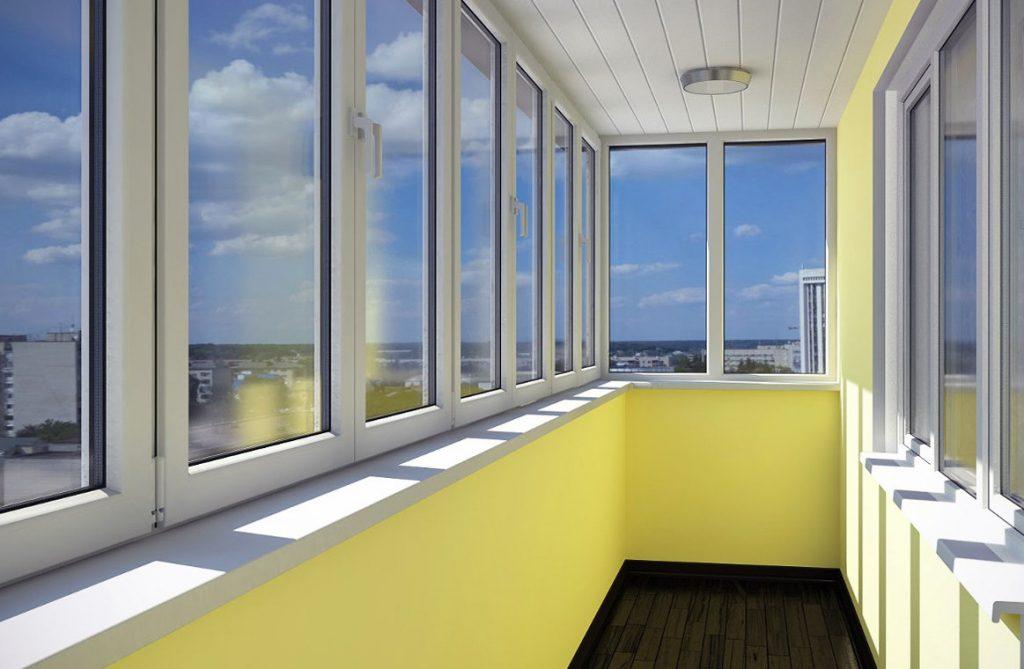 Остекление солнечного балкона