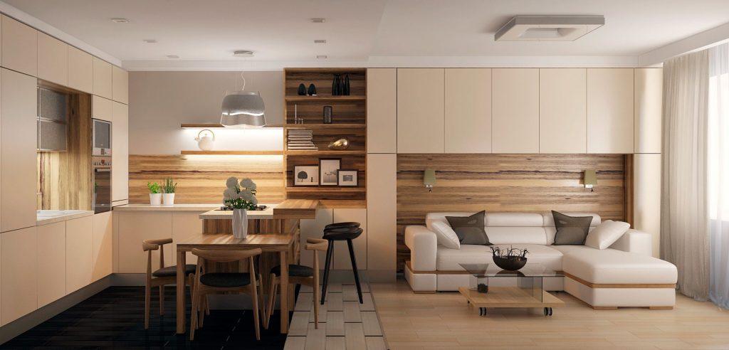 Дизайн малогабаритной современной квартиры